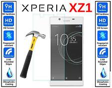 Vidrio templado genuino 100% Ultra HD protector de pantalla cubierta para Sony Xperia XZ1