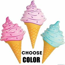 """Inflatable Ice Cream Cone ~ Giant 36"""" Inches (Choose Color Pink,Blue, or Purple)"""