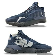 Adidas Nite Jogger x 3M Mens Lifestyle Shoes Size 10 Navy/Grey-Black EE5858 NEW