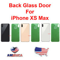 OEM Replacement Glass Rear Back Door Battery Cover Replacement For iPhone XS Max