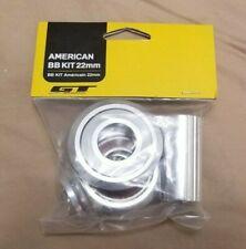 GT American 22 mm Sealed Bottom Bracket BB Kit 4 New 3-Piece Power Series Cranks