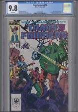 Transformers #14 CGC 9.8 1986 Marvel Comic: Many First Appearances: NEW Frame