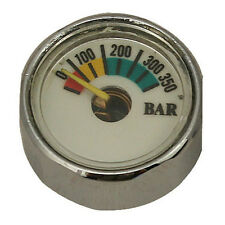 Scuba Dive BAR Pressure Gauge Pony Bottle Mini Air Tank SPG