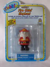 Webkinz Figure Fire Chief Elephant With Code NIP