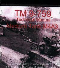 T005 TM 9-759, Medium Tank M4A3