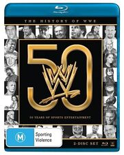 The WWE - History Of WWE - 50 Years of Sports Entertainment (Blu-ray, 2013, 2-Di
