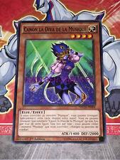 Carte Yu Gi Oh CANON LA DIVA DE LA MUSIQUE NECH-FR004 x 3