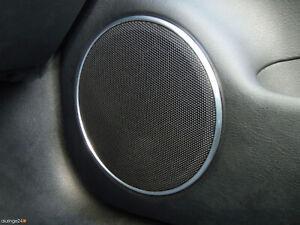 VW Bora Golf 4 IV 1J Lupo 6X New Beetle 9C Aluringe Alu Lautsprecher GTI R-LINE