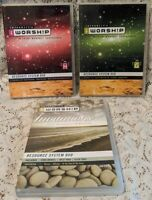 Integrity's iWorship Resource System Lot of 3 DVDs Vol G H & Invitations Faith