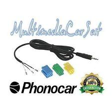 Phonocar 4107 Cavo Aux In Autoradio Musica Grande Punto Evo 500 Alfa 159 Brera*