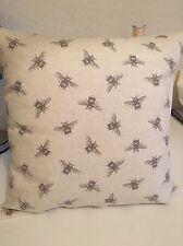 Handmade Cushion Cover made From Fryetts Bee Fabric