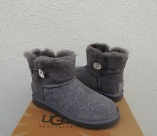 UGG MINI BAILEY BUTTON CONSTELLATION BLING SHEEPSKIN BOOTS, US 10/ EUR 41 ~NIB