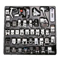 42 Stück Nähmaschine Nähfuß Füße Tool Kit Set für Brother Singer Domestic