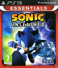 Sonic Unleashed Sony PS3 Playstation 3 Essentials NEW & SEALED FREE UK DELIVERY