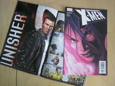 UNCANNY X-MEN 455. NM. Contains the PUNISHER poster. Psylocke, X23.  MARVEL 2005