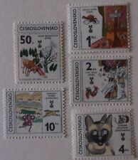 Czechoslovakia Stamp 2375-9 MNH Cat $3.85 Literature Topical