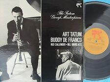 Art Tatum ORIG US LP Tatum group masterpieces NM '75 Pablo Buddy De Franco Jazz