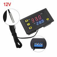 W3230 DC 12V Thermostat Temperaturregelung Schalter Regler Thermometer mit LED