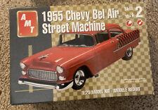 Amt 38535 1955 Chevy Bel Air Sedan Street Machine 1/25
