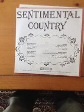 NEW lp: SENTIMEANTAL COUNTRY: JOHNNY CASH MARTY ROBBINS JIMMY DEAN  RAY PRICE +