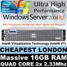 DELL POWEREDGE 2950 QUAD CORE 2x 2.33GHZ XEON E5345 16GB RAM 146GB RAID Perc5i