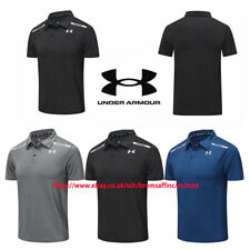 Under Armour Golf Sports Polo Shirt UA Mens Smooth Shirts Tops