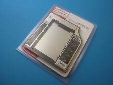 Ultrabay 2.hdd SATA adaptador para Dell e6410 e6510 e6400 e6500 9,5mm HDD caddy