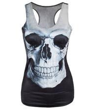 Tank Top Skull Skulls Crossbones Rockabilly Schädel Totenkopf NEU OVP Gothic TOP