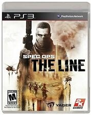 Spec Ops: The Line (Sony Playstation 3, 2012) new ps3