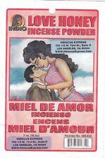 Love Honey Incense Powder * MIEL DE AMOR INCIENSO ENCENS MIEL D'AMOUR from Hibis