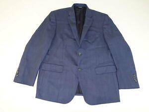 Jos. A. Bank Men's Suit Jacket Size 44 Regular Navy Blue 44R 100% Wool jacket