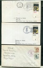 Lot Of 8 Covers, American Samoa (3 Scans)