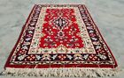 Authentic Hand Knotted Vintage Tabreez Wool Area Rug 3 x 2 FT (11297 KBN)
