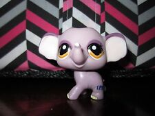 LPS littlest pet shop lavender purple elephant #1086 special edition MINT Hasbro