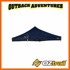 OZTRAIL DELUXE GAZEBO 3m x 3m REPLACEMENT CANOPY - BLUE NEW MODEL