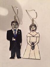 Princess Eugenie Jack brooksbank Royal Wedding Earrings Hand Crafted