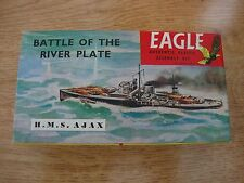 *RARE* EAGLE Model Kit - Battle of the River Plate H.M.S. AJAX - 1/1200