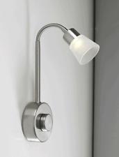 Chambre à coucher flexible led 3 watt mur lumière avec rotary dimmer et conducteur intégré