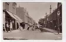 HIGH STREET, CARNOUSTIE: Angus postcard (C24956)
