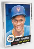 2021 Topps MLB Living Set #402 Darryl Strawberry 1986 Mets HOF 1983 ROY SP