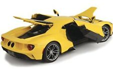 2017 FORD GT YELLOW 1/18 DIECAST CAR MODEL BY MAISTO 31384