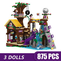 Building Blocks Friends Bricks Adventure Camp Tree House with Figures Toys