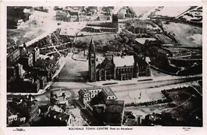 England: Rochdale - Town Centre from an Aeroplane gl1936 146.781