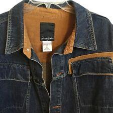 Sean John Collection Denim Trucker Jacket Size XL New York City SJC/19