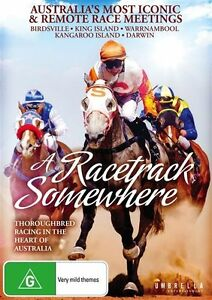 A Racetrack Somewhere (DVD) Australia's Most Iconic & Remote Race Meets. NEW