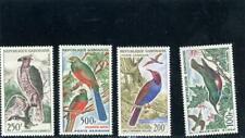 Gabon 1963 Birds Scott# C14-C17 mint LH