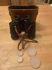 S & G Binoculars Vintage 7x50 Field 7.1 * T.T # 52921 With Original Case & Strap
