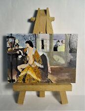 La Celestina ACEO Original PAINTING by Ray Dicken a Ignacio Zuloaga