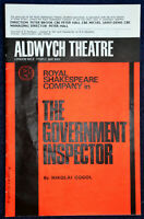 1966 THE GOVERNMENT INSPECTOR Theatre Programme PAUL ROGERS BREWSTER MASON