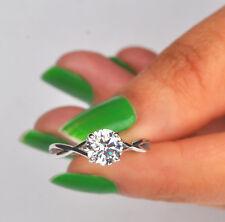 585er Weiß gold 1,85Kt runden Form fabelhaft Entwurf Solitär Verlobung Ring